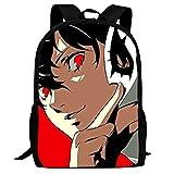 Silithus Per-sona Fashion Cute Bookbag Travel Hiking Camping Backpacks School Bags for Boys Girls