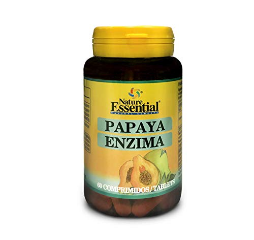 Papaya enzyma. Papaina (6.000 USP/mg) 60 tabletas