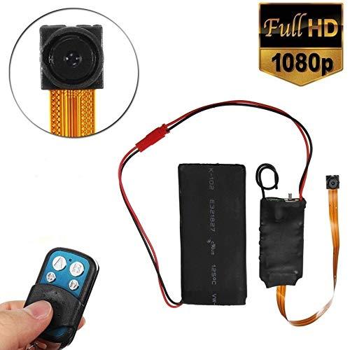 TrAdE Shop Traesio- Mini Micro Telecamera 1080P IP Cam Spia Spy CMOS SPYCAM Full HD con Telecomando