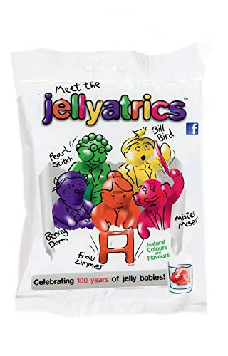 Jellyatrics Jelly Babies Novelty Retirement 50th 60th 70th Birthday Fun Gift (Jellyatrics jelly baby...