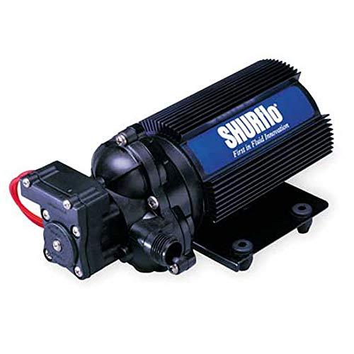 Shurflo Bomba de Presión de Agua 12V 13 l/min Consumo Continuado 2088-514-145 -Aplicaciones para Altos caudales de Transferencia de líquidos.