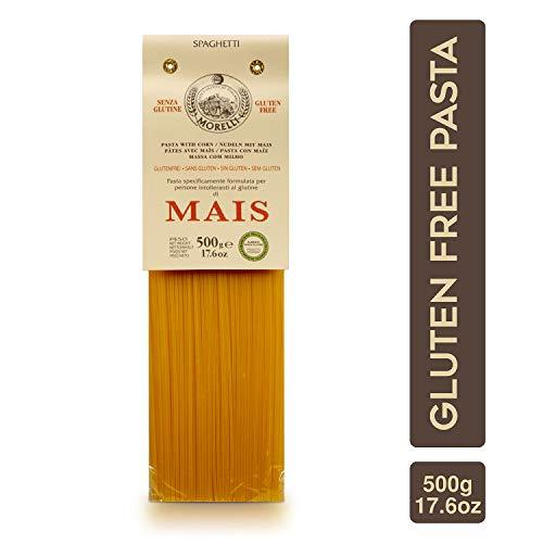 Morelli Spaghetti Pasta - Gluten-Free Corn Pasta from Italy - 17.6 oz / 500g
