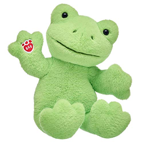Build A Bear Workshop Spring Green Frog Plush, 16 in.