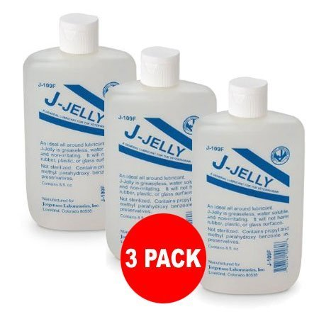 J-Jelly Lubricante 8oz – Paquete de 3