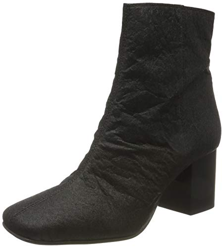 Selected SLFZOEY Textile Boot B, Bottines Femme, Noir, 40 EU
