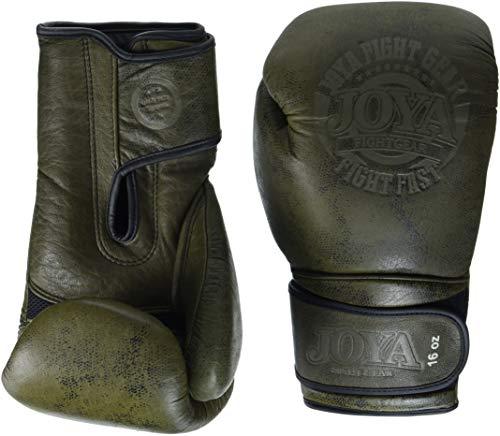 """Joya - Guantes de Boxeo (Piel, 16""""), Color Verde"""