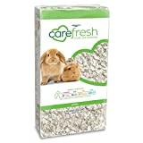 carefresh 99% Dust-Free White Natural Paper Small Pet Bedding with Odor Control, 10 L