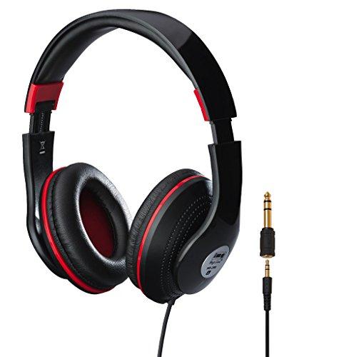 IMG STAGELINE MD-390 Stereo-Kopfhörer schwarz, 220100