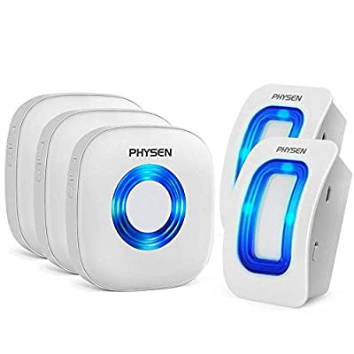 PHYSEN Wireless Home Security Driveway Alarm kit