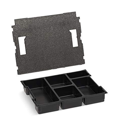 Bosch Sortimo Einsatz 5fach mit Deckelpolster für L-Boxx 102
