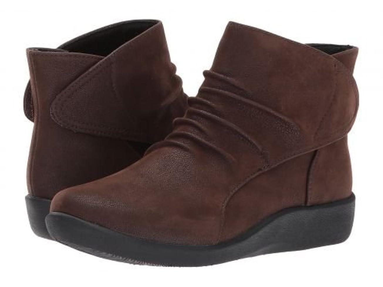 動奇妙なピーブClarks(クラークス) レディース 女性用 シューズ 靴 ブーツ アンクルブーツ ショート Sillian Sway - Brown [並行輸入品]