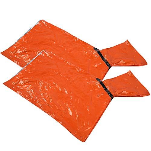 Impermeable de Emergencia de Rescate con Cubierta Impermeable Impermeable con Sombrero Supervivencia de Emergencia y Poncho de Lluvia CáLida para Acampar al Aire Libre