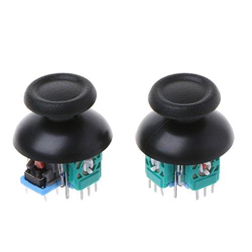 ZOUCY 2 Piezas Joystick Axis Módulo de Sensor analógico Thumbstick para PS4 Pro Slim Controller