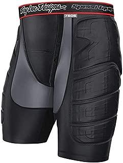 Troy Lee Designs LPS 7605 Protection Short - Men's Solid Black, XS