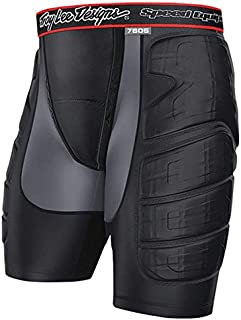 Troy Lee Designs LPS 7605 Protection Short - Men's Solid Black, L