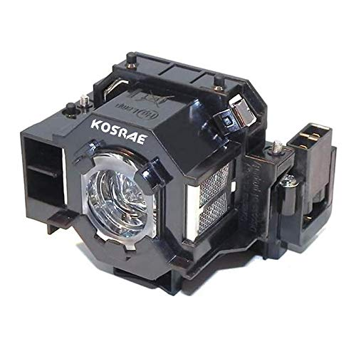 KOSRAE for ELPLP41 / V13H010L41 Replacement Lamp Bulb for Epson EMP-S5 EMP-X5 / H283A H284A / EX21 EX30 EX50 EX70 / PowerLite 77C 78 700 S5 S6 W6 Projector