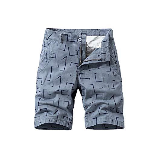 serliy Herren Cargo Shorts Bermudas Schwarz Shorts Baumwolle Militär Sommer Cargo Camouflage Shorts Arbeit Hosen Cargo Pant