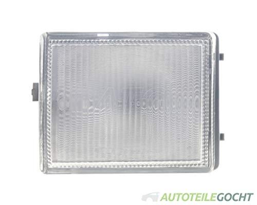 Set Kurz Blende Nebelscheinwerfer weiß für VW PASSAT 3A2 35I 93-97 von Autoteile Gocht