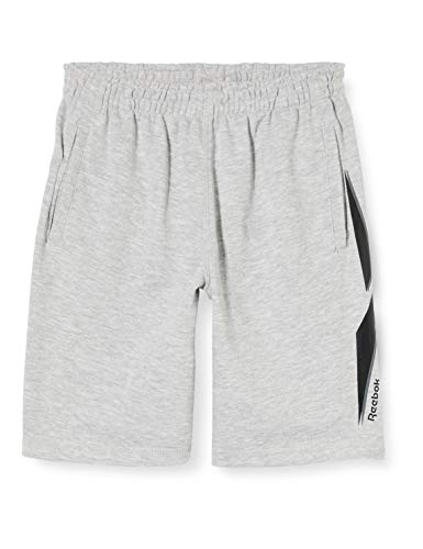 Reebok Big The Vector Shorts für Kinder L White Htr Grey