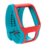 TomTom - Cardio Comfort Strap Turquoise/Red