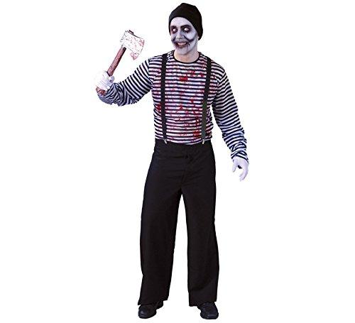 Disfraz de Mimo Asesino para hombre