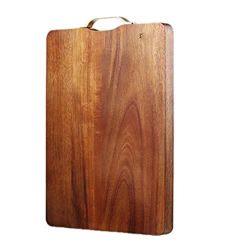 Tabla de cortar de madera, tabla de cortar del hogar de madera maciza, tabla de cortar, tabla de cortar de cocina, antibacteriano y