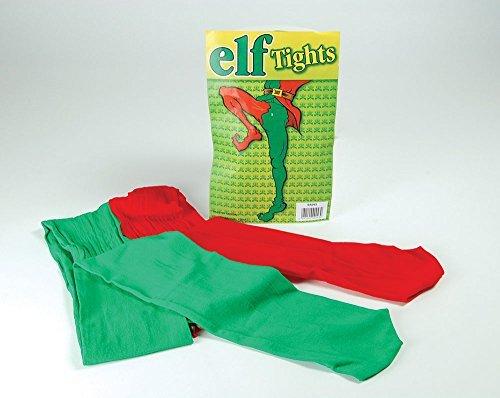 Déguisement d'elfe Joker avec Collants Verts et Rouges