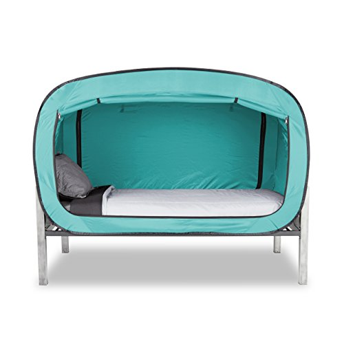Privacy Pop Bed Tent (Twin) - Teal