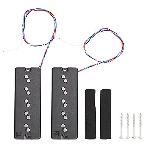 Pastillas Para Bajo de 5 Cuerdas Pastilla Para Guitarra Eléctrica de Bajo...
