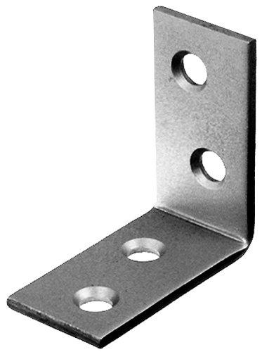 GAH-Alberts 361112 Stuhlwinkel - Edelstahl, 40 x 40 x 15 mm / 50 Stück