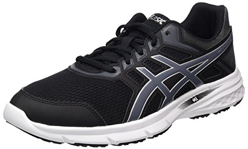 ASICS Gel-Excite 5 Mens Running Trainers T7F3N Sneakers Shoes (UK 7 US 8 EU 41.5, Black Carbon Silver 9097)