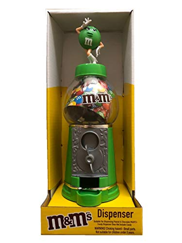 M&M's Dispenser di Caramelle e Salvadanaio 23cm Verde