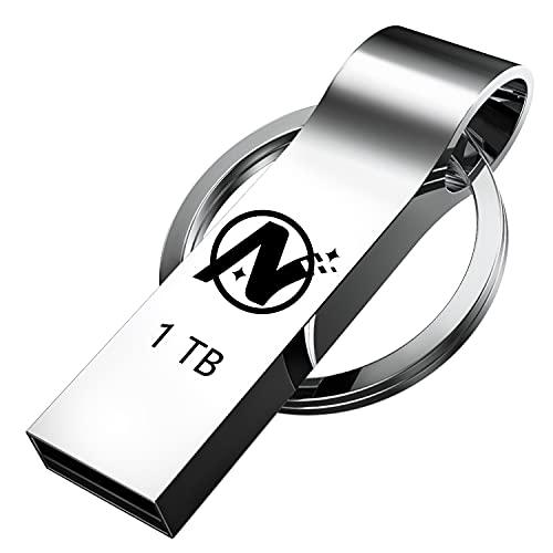 USB Flash Drive 1TB, Thumb Drive: Lekikpo USB Memory Stick, Ultra Large Data Storage USB Drive, Portable Jump Drive Zip Drive with Keychain