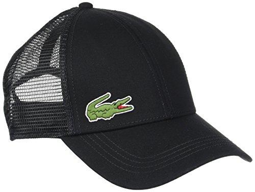 Lacoste RK2321 Gorra de béisbol, Black, Taille Unique para Hombre