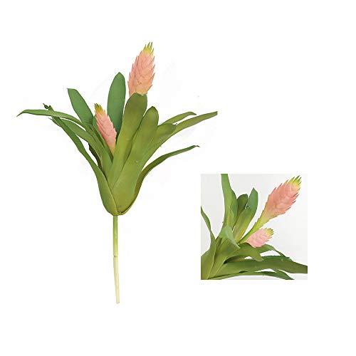 MIGUOR - Piante grasse artificiali per interni ed esterni, giardino e decorazione per la casa, colore: Rosa rosa (rosa-rosa, 31,8 cm)