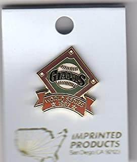 1987 San Francisco Giants Phantom World Series Pin by Imprinted Products
