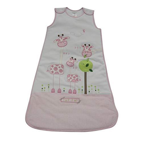 Pitter Patter Baby Mädchen Schlafsack rosa rose 6-12 Monate