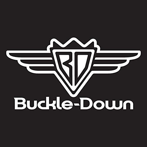 Buckle-Down Business Card Holder - Wonder Woman Logo Marquetry Black Walnut/Metal - Small Photo #3