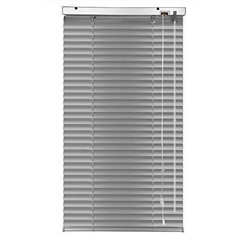 S SIENOC Aluminium Venetian Blind, Alu Jalousie Alujalousie Schalusie Klemmfix Jalousette Fenster Rollo Montage ohne Bohren möglich