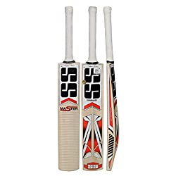 SS Kashmir Willow Leather Ball Cricket Bat, Exclusive Cricket Bat for Adult Full Size with Full Protection Cover