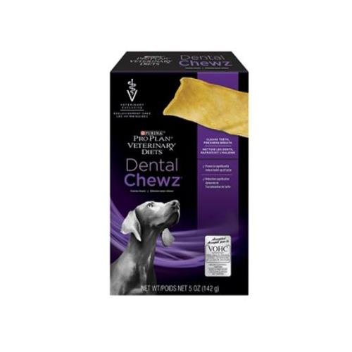 Purina Veterinary Diets Dental Chews Canine Treats 5 oz Box, Case of 6