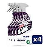 Cillit Bang Higiene - Limpiador higienizante en spray, pack de 4 x 750 ml