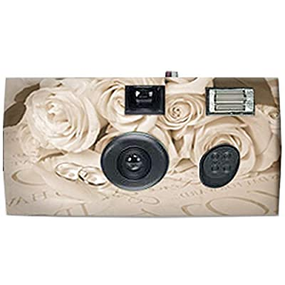 Disposable Camera for Weddings - 35mm Film, Single-use Film Cameras, 1 Camera from 21Supply