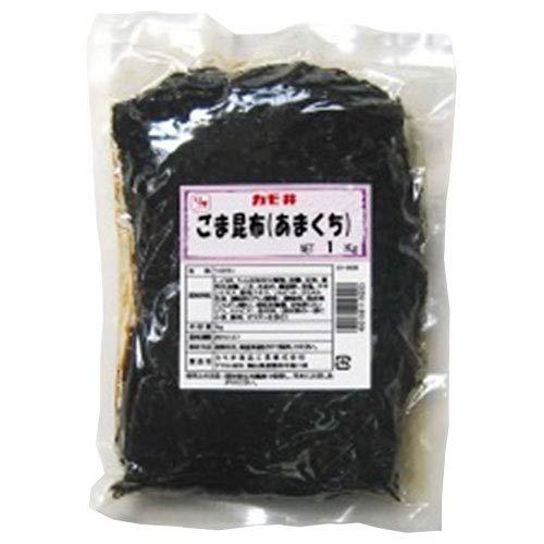 カモ井 ごま昆布(あまくち) 1kg×1袋入