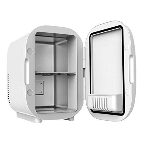 Mini nevera 6 litros, caja congelador para el hogar y el coche, 12 V, refrigerador, calentador, calentador, nevera portátil, mini congelador para coche, para viajes picnic, aventuras al aire libre, c
