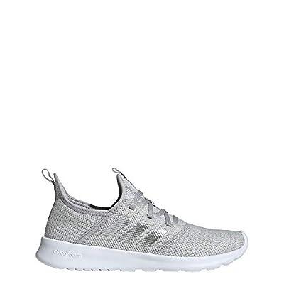 adidas Women's Cloudfoam Pure Track and Field Shoe, Matte Silver/Grey, 10 Standard US Width US