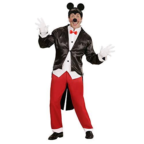 Widmann 05884 Volwassen kostuum Mister Mouse, Heren, meerkleurig