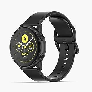 Samsung SM-R500BK Galaxy Watch Active - Black, (Pack of 1)