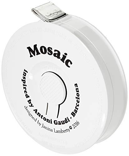 hoechstmass Balzer 80144D-Mosaic rollfix decor Mosaic Rollmaßband 150 cm, plastic, multicolor, 5