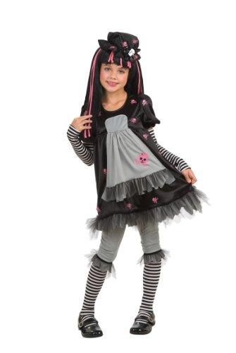 Rubie's-déguisement officiel - Rubie's- Déguisement Costume Black Dolly - Taille M- I-884681M
